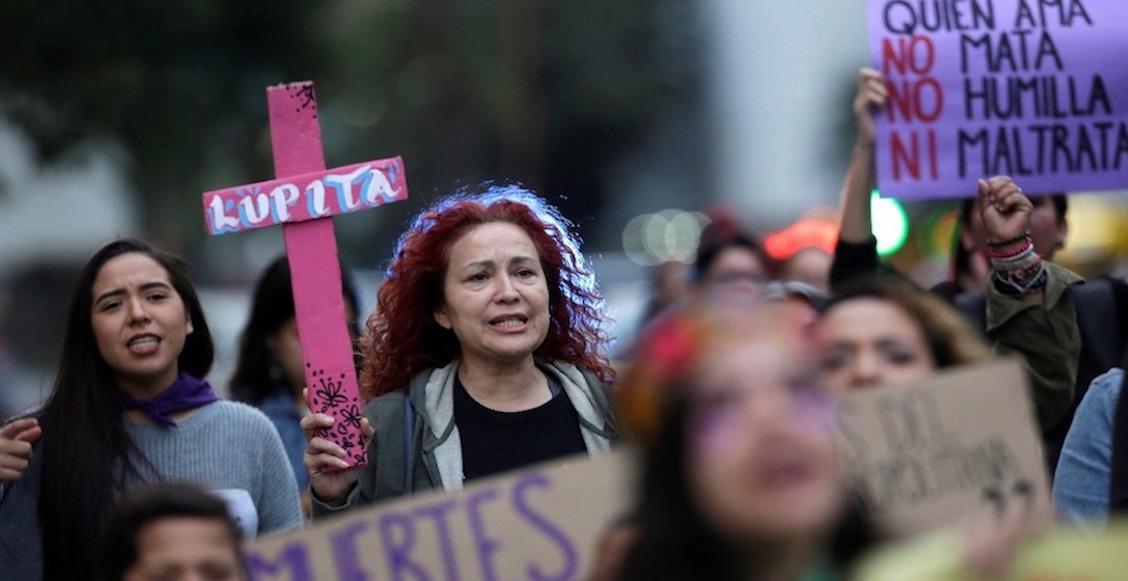¡Ni una menos! Las cifras de feminicidios en México en 2018