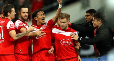 ¡Sorpresón! Los goles con el que el Fortuna Düsseldorf le quitó el invicto al Dortmund