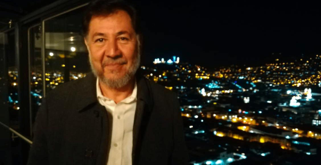 Fernández Noroña se destapa o 'lo destapan' para 2024, en Brasil