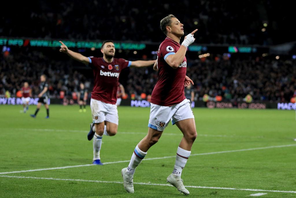 ¡Golazo 'Divino'! Revive el gol de Chicharito al Newcastle en la Premier League