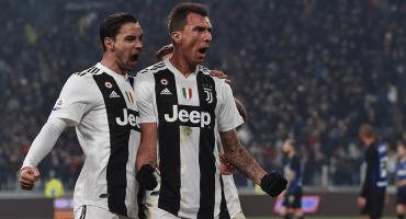 ¡IMPARABLES! Con este gol de Madnzukic, la Juventus se llevó el Clásico de Italia
