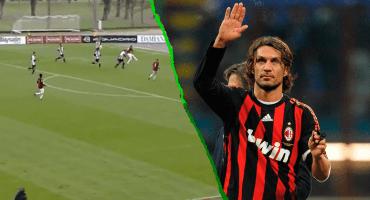 ¿La leyenda continúa? Así el golazo del hijo de Paolo Maldini