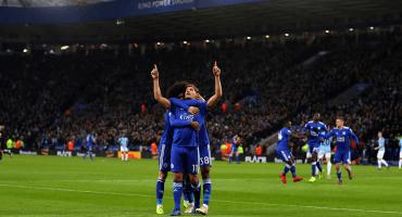 ¡Van los goles! Leicester le pegó al Manchester City en el Boxing Day