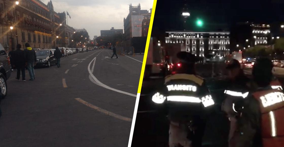 '¡Benditas redes sociales!', quitan coches de Morena estacionados en doble fila