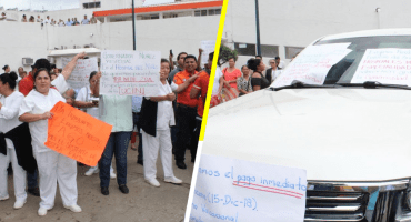 '¡Bola de rateros!' le gritan a esposa del gobernador de Tabasco en el hospital del Niño