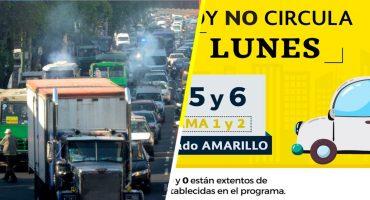 Habrá 'Hoy No Circula' este 31 de diciembre por aquello de la contaminación ambiental