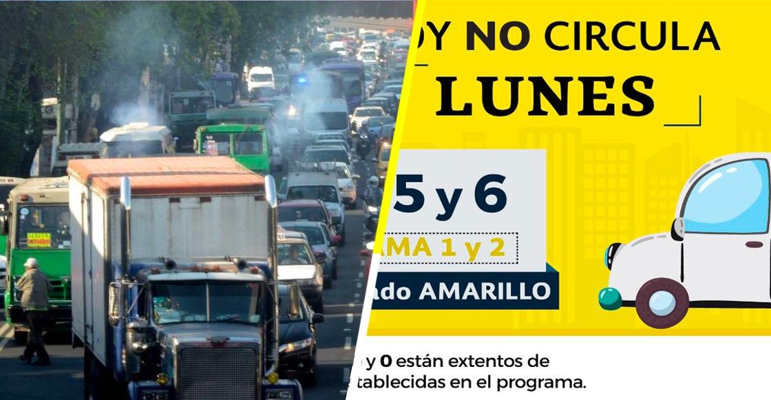 Gobierno CDMX aplica Hoy No Circula este 31 de diciembre, por aquello de la contaminación ambiental