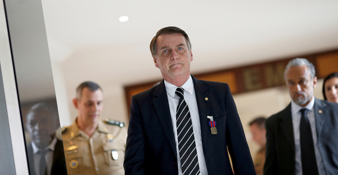 El incidente del caballo que casi frena el juramento de Bolsonaro