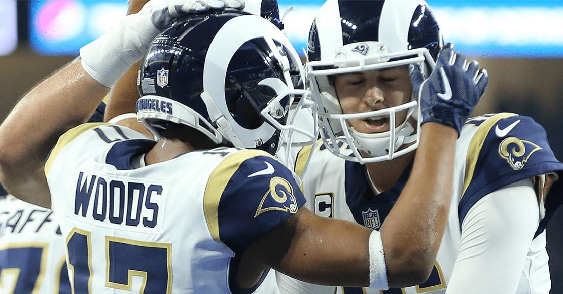 ¡Bienvenidos! Rams amarran playoffs en la Semana 13 de la NFL