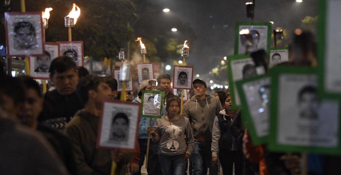 A 51 meses del caso Ayotzinapa, familiares de los 43 estudiantes hacen escuchar su voz