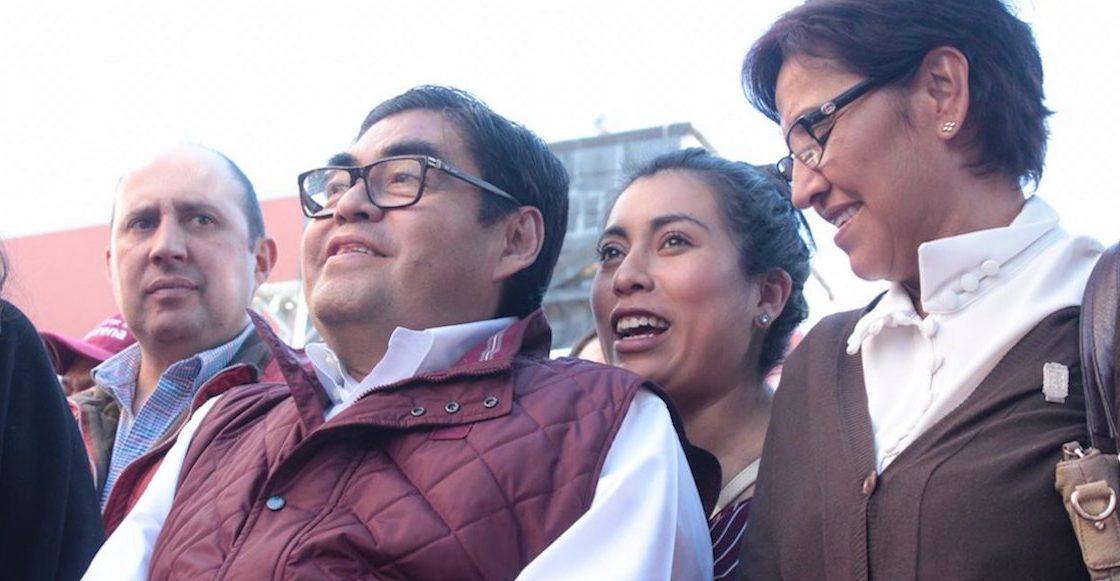 Va de nuez: Barbosa contenderá en las elecciones de Puebla, dice Yeidckol