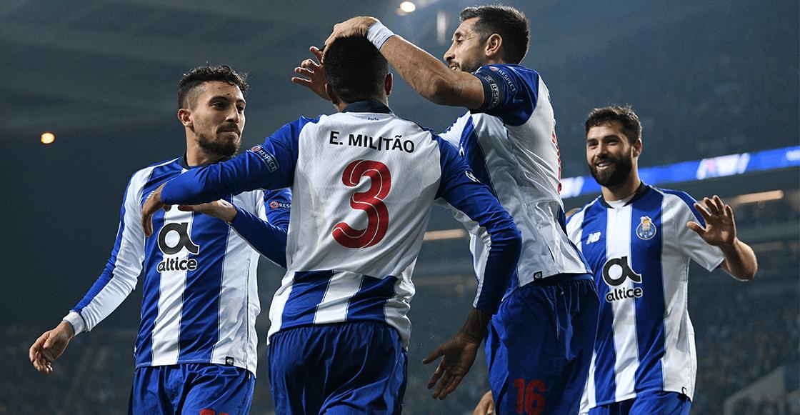 Por segunda vez en su historia, Porto avanza invicto a Octavos de Champions League