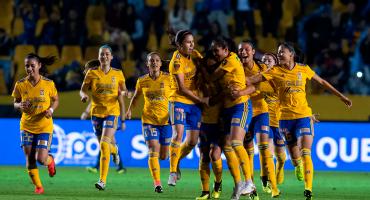 ¡Van los goles! Tigres eliminó a Chivas y enfrentará al América en la final de la Liga MX Femenil
