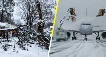 En imágenes: así impactó una tormenta invernal en Carolina del Norte