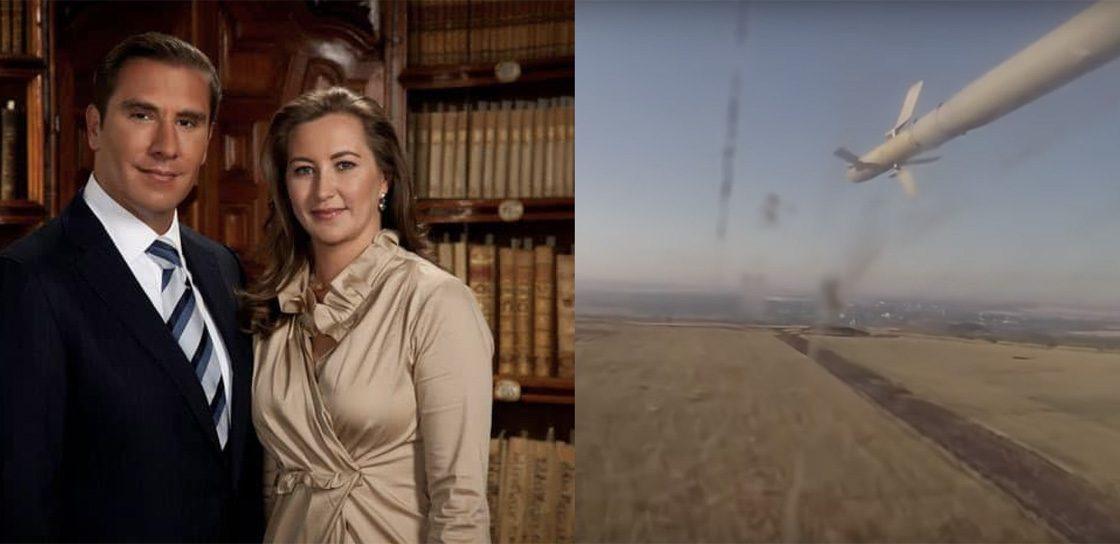 Imagen del falso video del accidente de la gobernadora de Puebla, Martha Erika Alonso y su esposo Rafael Moreno Valle