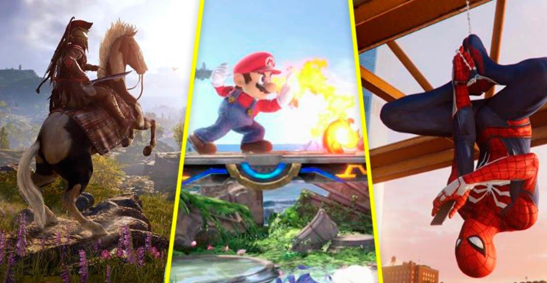 Los videojuegos imperdibles del 2018