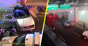 Al menos dos personas fallecieron en un choque automovilístico en Río Churubusco