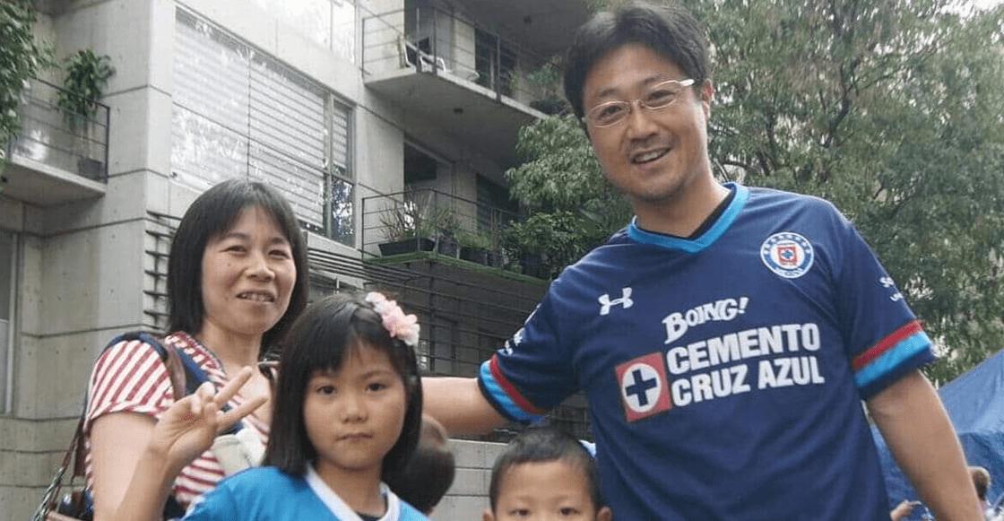 El aficionado japonés que viajó desde su país para ver a Cruz Azul