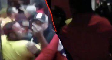 Aficionados de San Luis se rieron de Maradona... ¡y este intentó golpearlos!