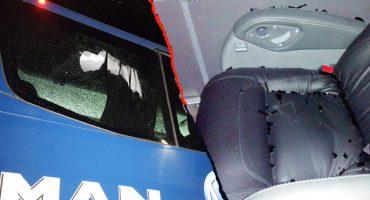 ¿River, eres tú? Aficionados de Santos apedrearon autobús de Monterrey tras quedar eliminados