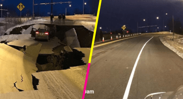 Así se hace: Alaska reconstruye en 4 días los daños del sismo