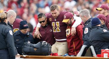 El regreso de Alex Smith se complicaría por una infección tras su dramática fractura