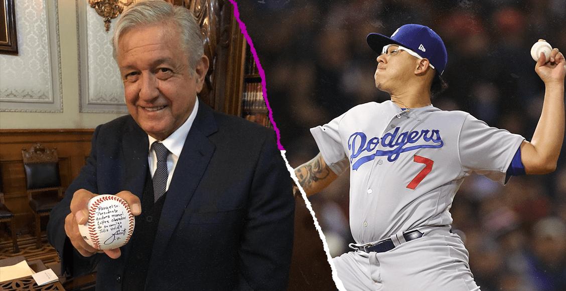 El regalo de uno de los jugadores de los Dodgers a López Obrador