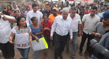 En Nayarit, AMLO promete la entrega de 60 millones de pesos para municipios afectados