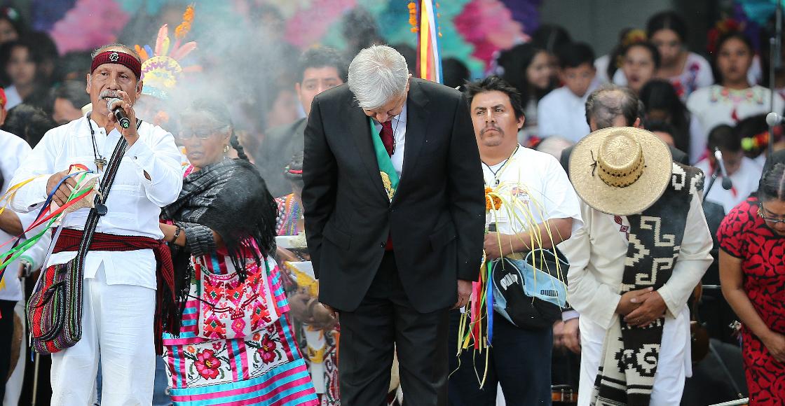 AMLO pedirá permiso a la Madre Tierra para construcción del Tren Maya