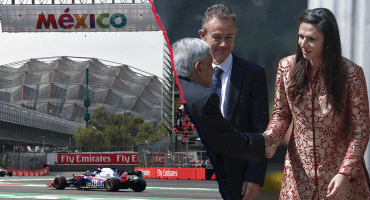 Otra supuesta pedrada de Ana Guevara al GP de México: