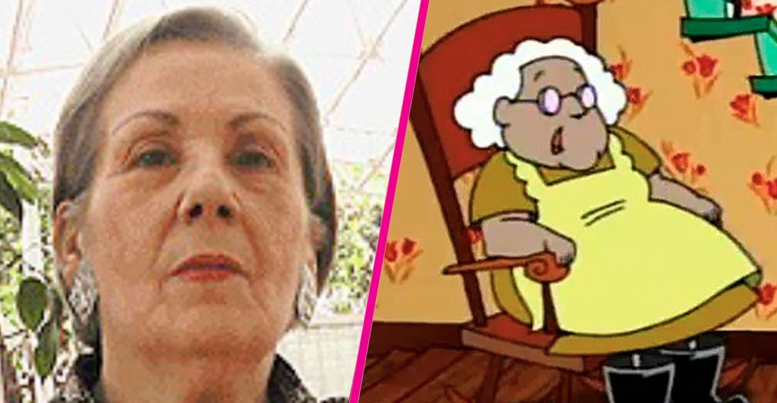 """¡NOOOO! Murió Ángeles Bravo, la voz de Muriel en """"Coraje, el perro cobarde"""""""