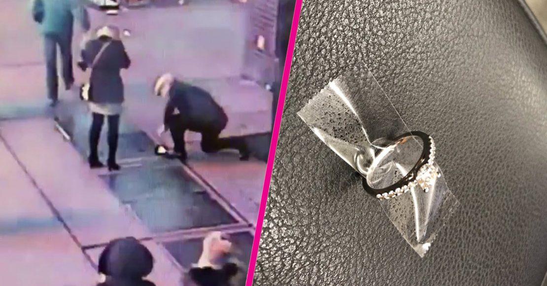 Como cuando se te cae tu anillo de compromiso a la coladera y te busca la policía