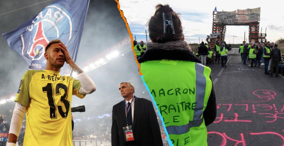 ¡Tremendo! Aplazan el PSG vs Montpellier por violencia y manifestaciones en París