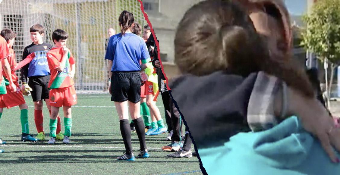 Árbitra se retira del futbol por amenazas de muerte... ¡¿de niños de 8 años?!