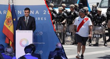 El River-Boca de la Copa Libertadores fue uno de los temas en el G-20