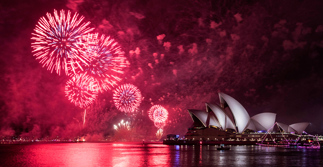 Fotos: Mientras tú duermes, en Australia y Nueva Zelanda ya es 2019