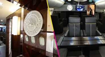 En imágenes: Así es por dentro el avión presidencial de Peña Nieto