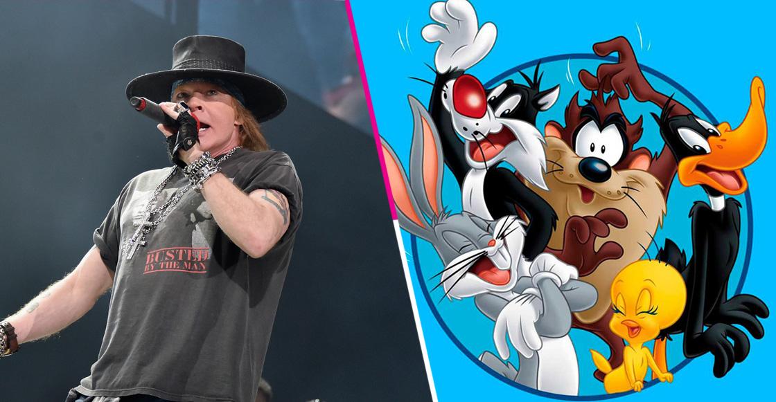 Al parecer, Axl Rose liberó nueva música durante un episodio de 'Looney Tunes'