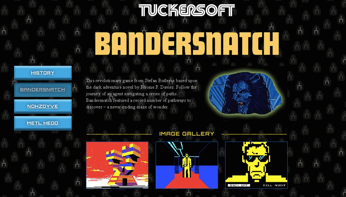 Black Mirror: Bandersnatch - juego