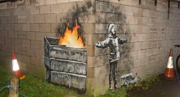 Banksy ataca de nuevo con una obra sobre contaminación en Port Talbot al sur de Gales