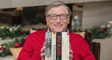 Los 5 mejores libros del 2018 para Bill Gates