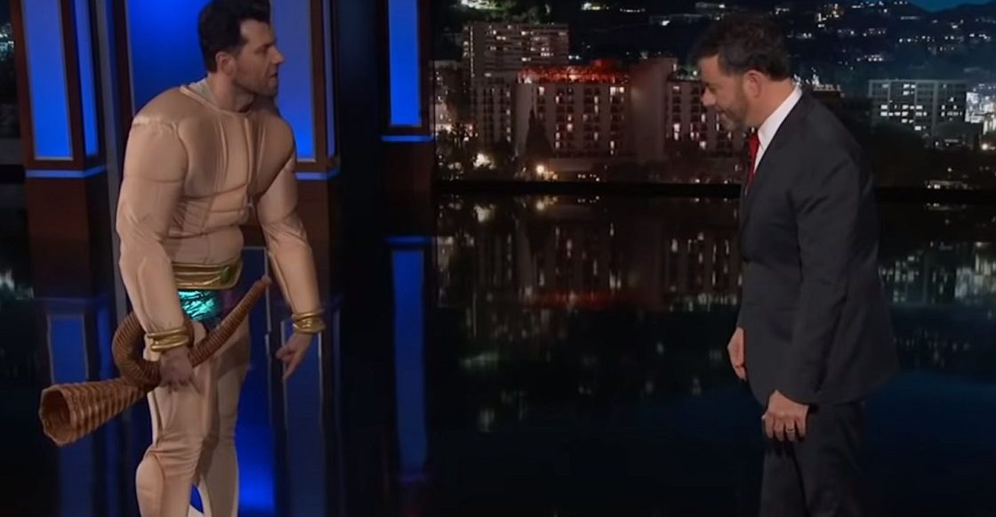 Namor en Jimmy Kimmel Live
