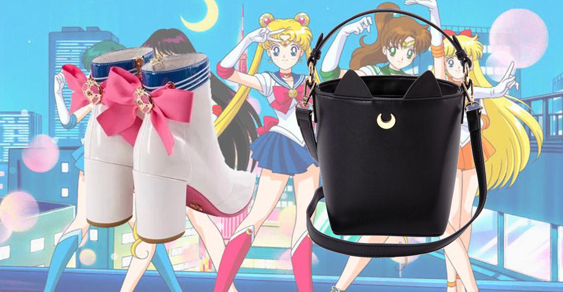 ¡Por el poder del prisma lunar! Checa las nuevas botas de Sailor Moon