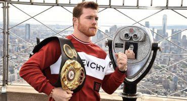 ¡Presagio de victoria! 'Canelo' Álvarez está invicto ante boxeadores británicos
