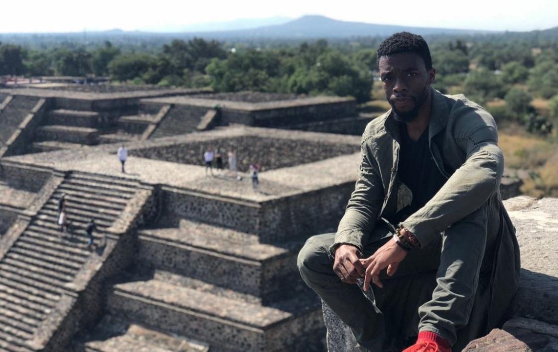 Chadwick Boseman y su visita a Teotihuacán