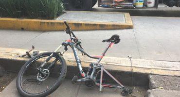 Fallece otro ciclista atropellado en la CDMX, ahora en San Pedro de los Pinos