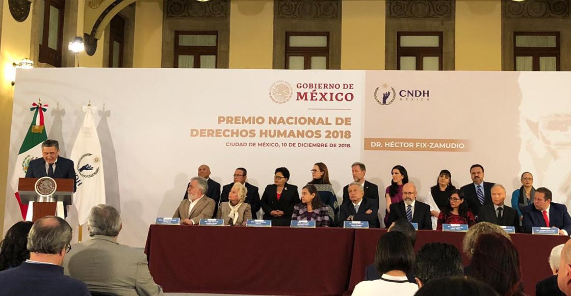 Premio Nacional de Derechos Humanos 2018 para el Dr. Héctor Fix-Zamudio