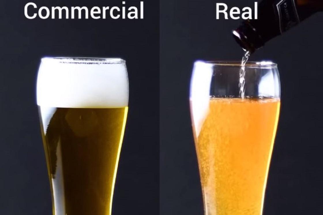 Trucos utilizados en comerciales de comida