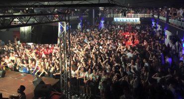 El 'Lobohombo Italiano'  Cinco niños murieron durante una estampida en una discoteca