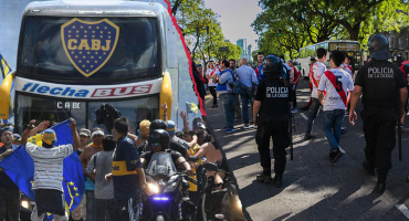 Ya hay condena para el aficionado de River que atacó el autobús de Boca